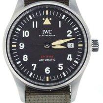 IWC Pilot Acier 39mm Noir