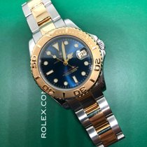 Rolex Yacht-Master Gold/Steel 35mm Blue No numerals Singapore, Singapore