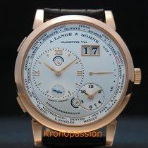 A. Lange & Söhne Lange 1 Rose gold 41.9mm Silver Roman numerals United States of America, Florida, Boca Raton