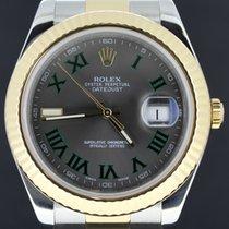Rolex Datejust II Aur/Otel 41mm Gri Roman
