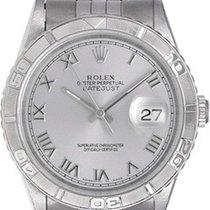 Rolex Datejust Turn-O-Graph Acero Plata Romanos