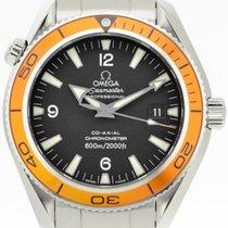 Omega 22015000 Acciaio 2010 Seamaster Planet Ocean 42mm usato