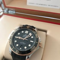 Omega Gold/Steel 42mm Automatic 210.22.42.20.01.002 new