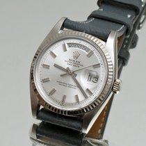 Rolex Day-Date 36 Witgoud 36mm Goud Geen cijfers Nederland, Utrecht