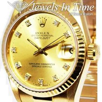 Rolex Datejust Yellow gold 31mm Champagne