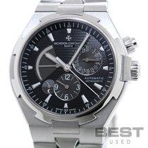Vacheron Constantin Overseas Dual Time pre-owned 42mm Black GMT Steel