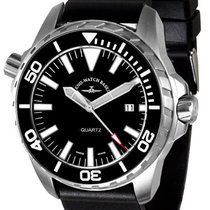 Zeno-Watch Basel Steel 53.5mm Quartz 6603-515Q-a1 new