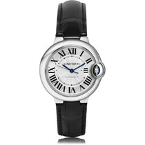 Cartier Ballon Bleu 33mm Steel 33mm White Roman numerals