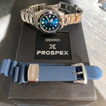 Seiko Prospex Steel 44mm Blue No numerals United States of America, Connecticut, Wallingford