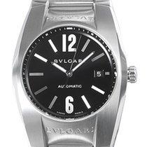Bulgari Ergon Steel 40mm Black No numerals United States of America, New York, Greenvale