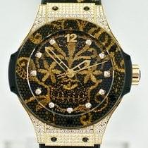 Hublot Big Bang Broderie Oro amarillo 41mm Negro