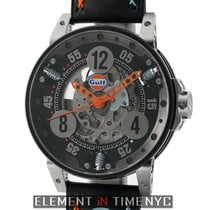 B.R.M V-6 BRM Gulf Racing Gulf Racing Watch 44mm Black Dial V6-44