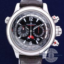 Jaeger-LeCoultre Master Compressor Extreme World Chronograph Acero 46mm Negro Árabes