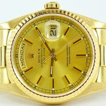 Rolex Day-Date President 18K Yellow Gold Double Quick 18238