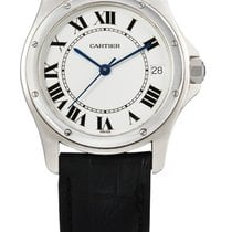 Cartier | A Stainless Steel Automatic Center Seconds Wristwatc...
