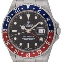 Rolex : GMT-Master II :  16710 :  Stainless Steel : black dial