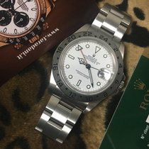 Rolex Explorer II 16570 V serial rolex card 2011 never polished