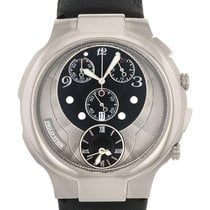 Philip Stein Steel Quartz 9-CRB3-CB new