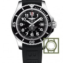 Breitling Superocean Chronograph 42 MM Black Index Dial Black...
