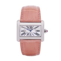 Cartier Tank Divan Steel 32mm