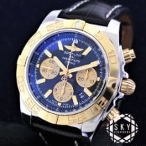 Breitling Chronomat 44 pre-owned 44mm Gold/Steel