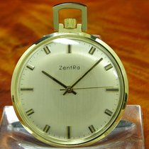 ZentRa 39.1mm Manual winding pre-owned Silver
