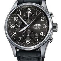 Oris Big Crown ProPilot Chronograph Acero 44mm Gris