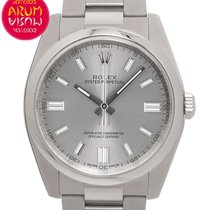 Rolex Oyster Perpetual 36 Acero 36mm Gris Árabes España, Madrid