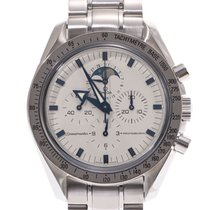 Omega Speedmaster Professional Moonwatch Moonphase Staal 41mm Wit
