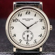 Patek Philippe Calatrava White gold 33mm White Arabic numerals
