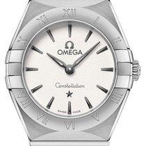 Omega Constellation Quartz Acier 25,00mm Argent Sans chiffres
