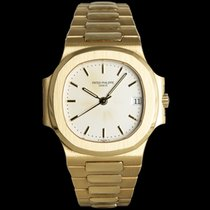Patek Philippe 3800 Yellow gold Nautilus 37mm pre-owned