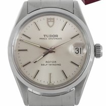 Tudor pre-owned Automatic 32mm Silver Plexiglass