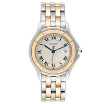 Cartier Cougar Gold/Steel 32mm Silver Roman numerals United States of America, Georgia, Atlanta