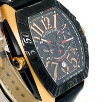 Franck Muller pre-owned Automatic 50mm Black Sapphire crystal 5 ATM
