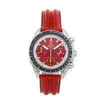 Omega Speedmaster Reduced Steel 36mm Red No numerals