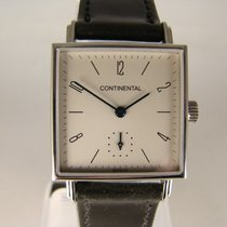 NOMOS Tetra pre-owned 27,7mm White Leather