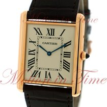 Cartier Oro rosado 34.9mm Cuerda manual W1560017 usados