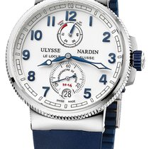 Ulysse Nardin Marine Chronometer Manufacture Сталь 43mm Белый