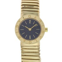 Bulgari Tubogas 18K Yellow Gold Watch BB 23 2T