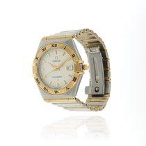Omega Constellation Gold/Steel 27mm No numerals