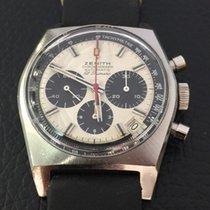 Zenith Superbe Chronograph vintage El Primero Panda  Dial