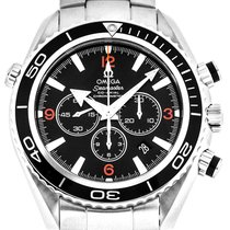 Omega Seamaster Planet Ocean Chronograph new Automatic Watch with original box 2210.51.00