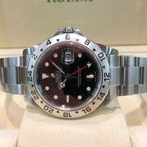 Rolex Oyster Explorer II Steel Black Dial 40 mm (Full Set)