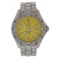 Breitling Superocean A17045 Yellow Dial Automatic