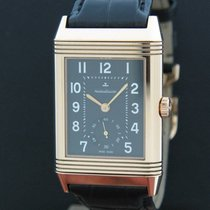 Jaeger-LeCoultre 48mm Manual winding 2012 pre-owned Grande Reverso 976 Black