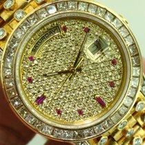 Rolex President 18238 Double Quick Set Day/Date  Custom Full...