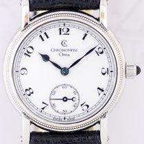 Chronoswiss Orea Handaufzug white arabic dial Klassiker small...