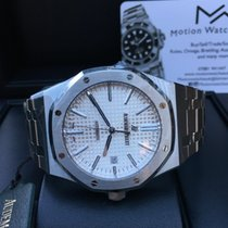 Audemars Piguet Royal  Oak AP 15400ST.OO.1220ST.02 White 2018 New