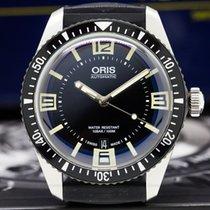 Oris 01733770740640742018 Divers Sixty Five SS Black Dial (28645)